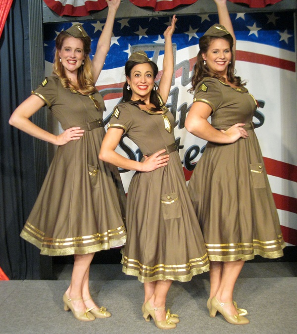 the andrews sisters kc applauds